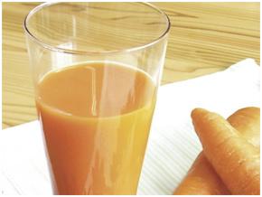 栄養たっぷり!にんじん100%ジュース