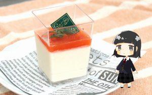 トマトと豆腐のレアチーズケーキ
